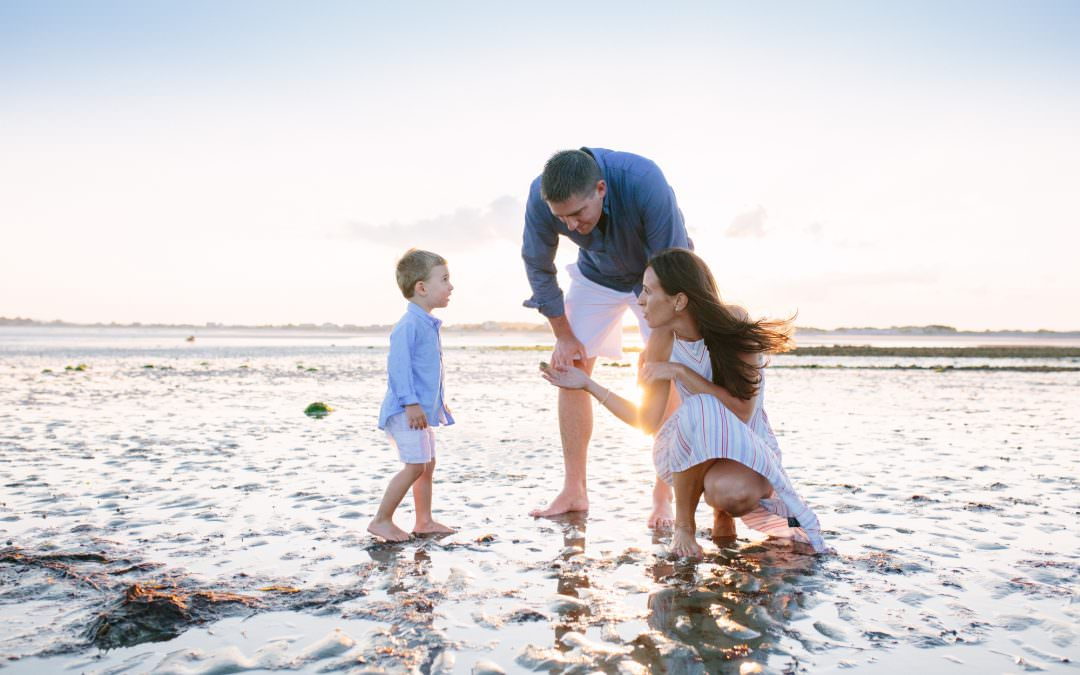 Saquish Beach Family Session | Duxbury, MA