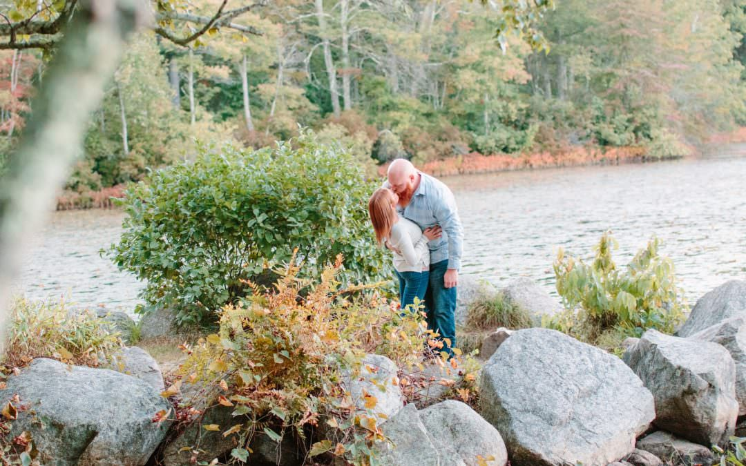 Borderland State Park Engagement Session | Jessica & Tommy