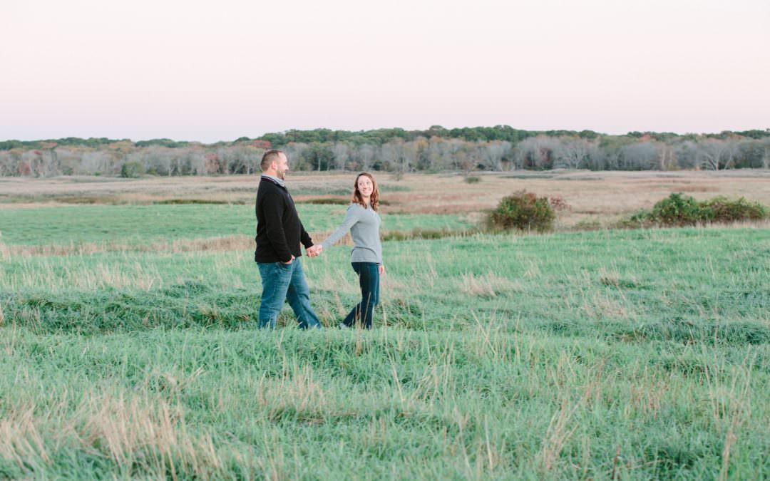 Mass Audobon Engagement | Jill & Jason | Marshfield, MA