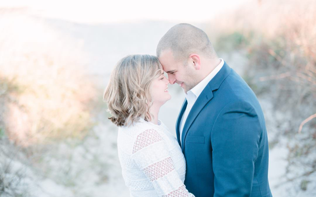 Dowses Beach Engagement | Osterville, MA | Molly and Chris