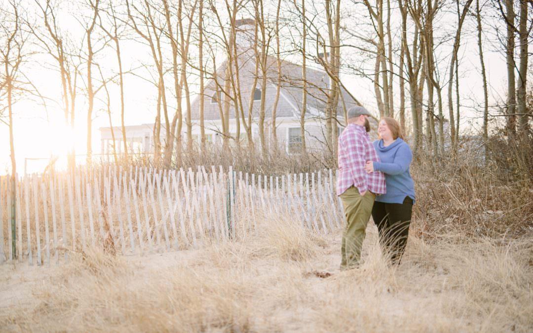 Jessie & Corey | Chatham, MA Engagement Session