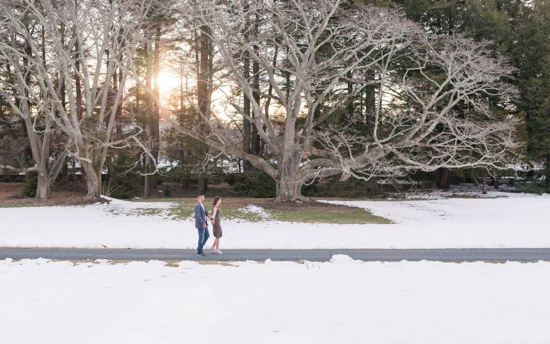 Jocelyn & Angel Engagement Session| Governor Oliver Ames Estate | Easton, MA