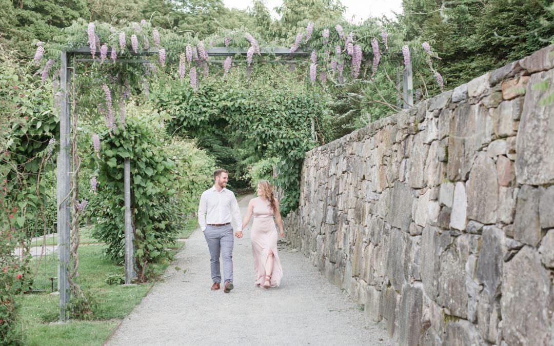 Dedham Community Theater | Endicott Estate | Harvard Arboretum Engagement Session