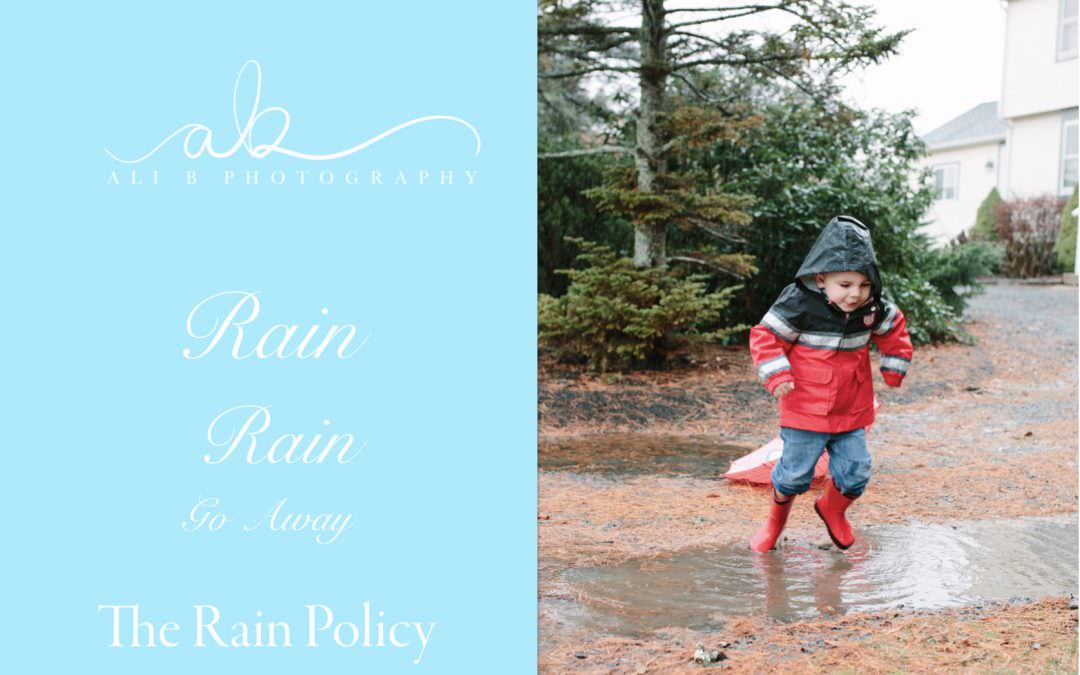FAQ | The Rain Policy