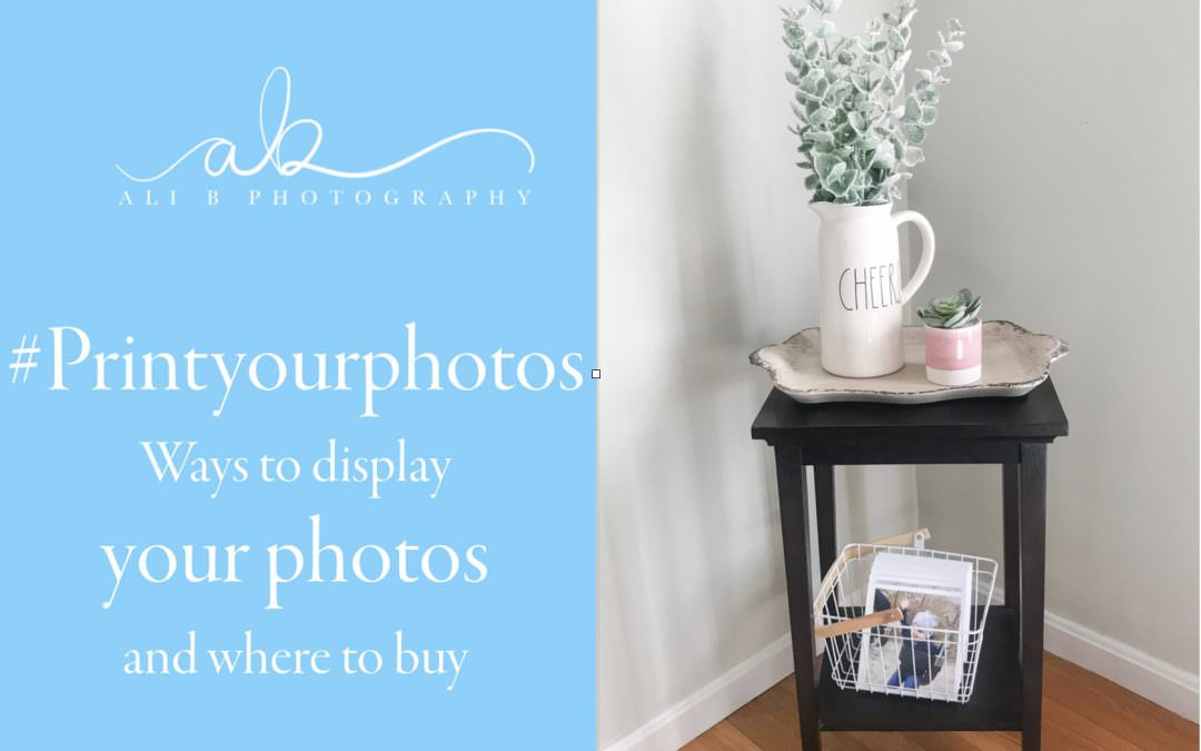 #Printyourphotos – ways to display your photos and where to buy