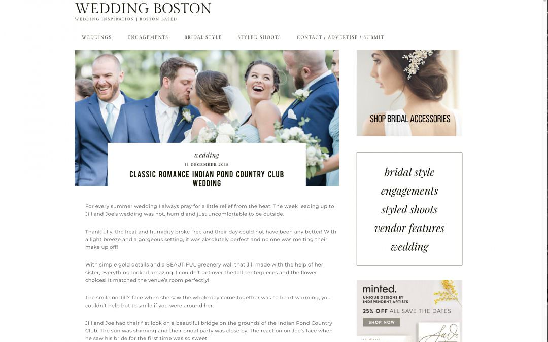 FEATURED | WEDDING BOSTON