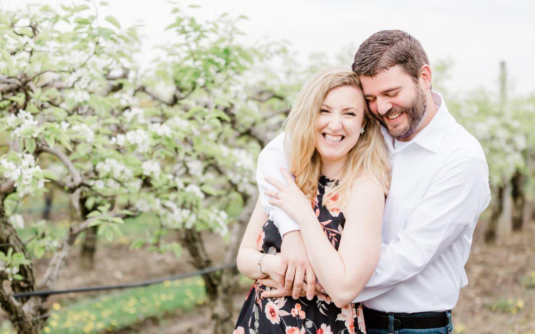 Belkin Family Lookout Farm Engagement Session | Rachel & Joe