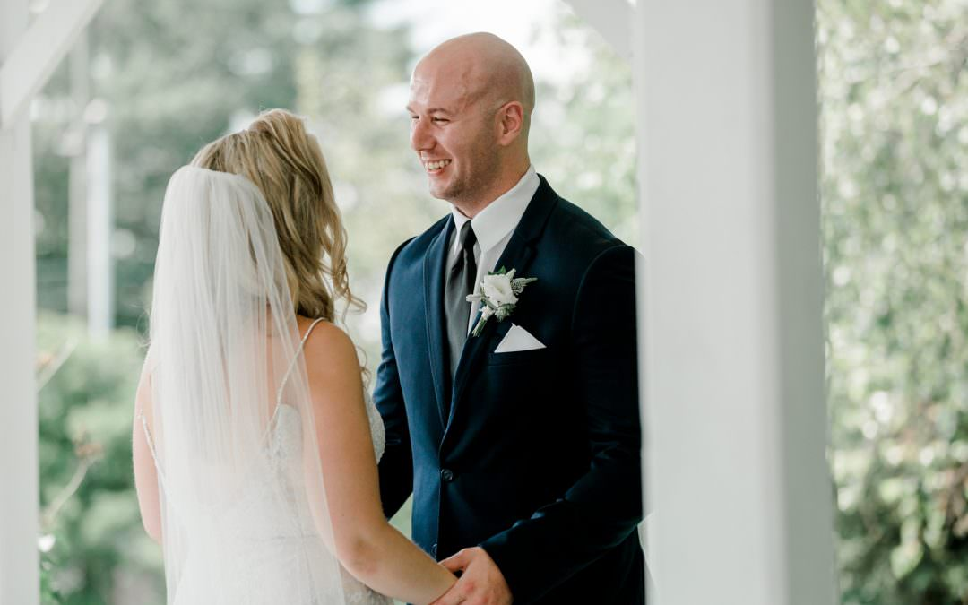 Why a First Look | Wedding Wednesday