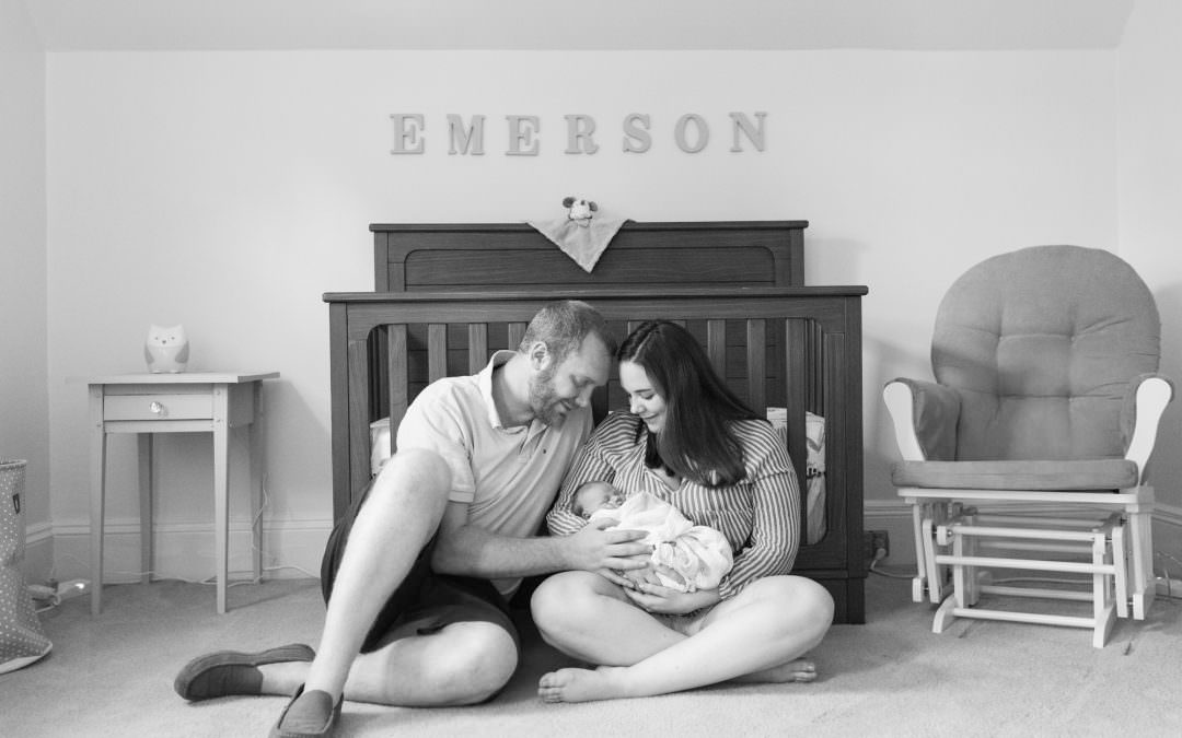 Baby Emerson | Lifestyle Newborn Session