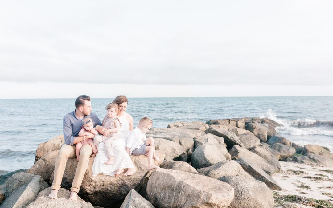 The Fielding Family | Dennis Beach , Cape Cod