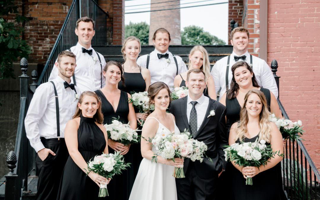 Rivermill at Dover Landing Wedding Venue | Hannah + Justin