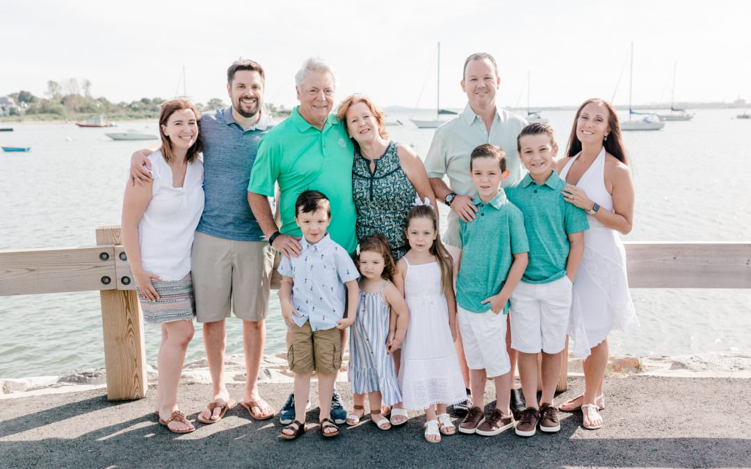 Swanson Extended Family Session | Winthrop, MA