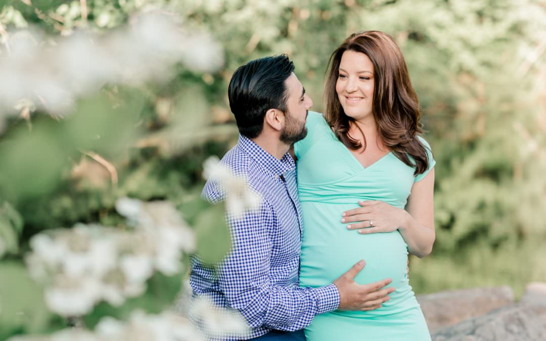 Ashley and Jesse Maternity Session | Londonderry, NH