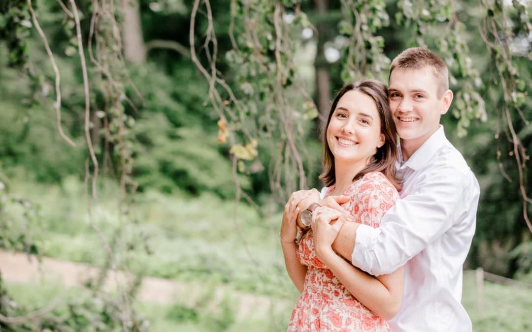 Colleen & Keith Engaged | Harvard Arboretum