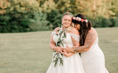 Carrie and Kelsey Wedding Day Part 2 | Tamworth, NH