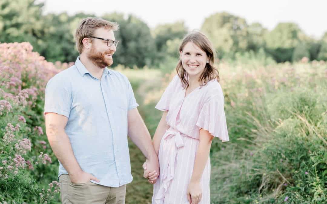 Katelyn and Ben Engagement Session | Barr Farm, Duxbury